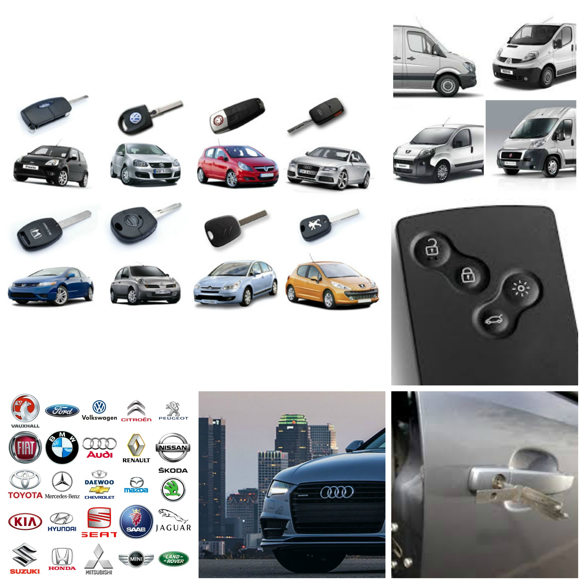 Lost Car Keys Auto Locksmiths Replacement Car Van Keys