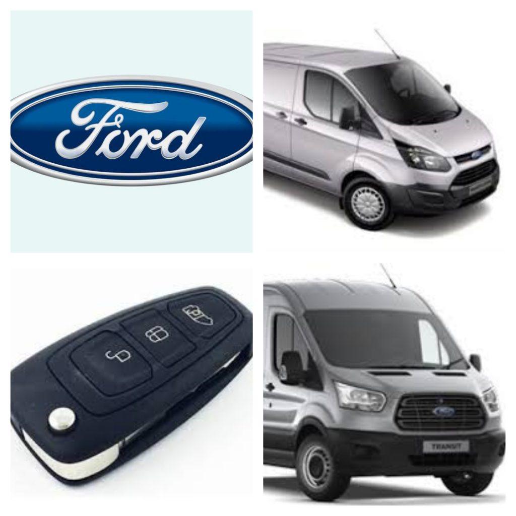 New Shape Ford Transit Transit Custom Keys Lost Car Keys